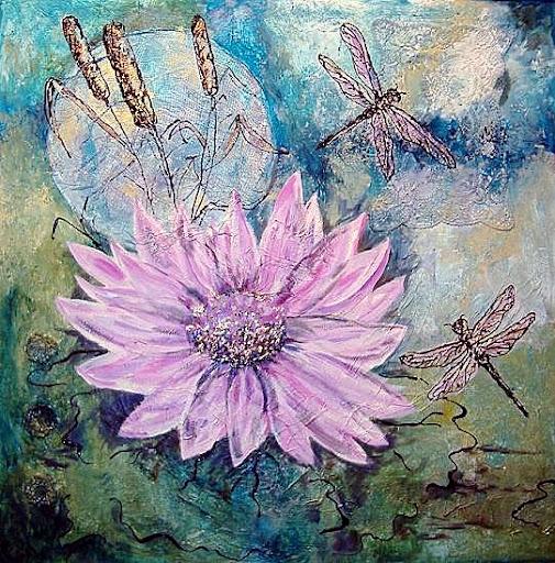 """""""Dragonflies"""" by Serena Boschert."""