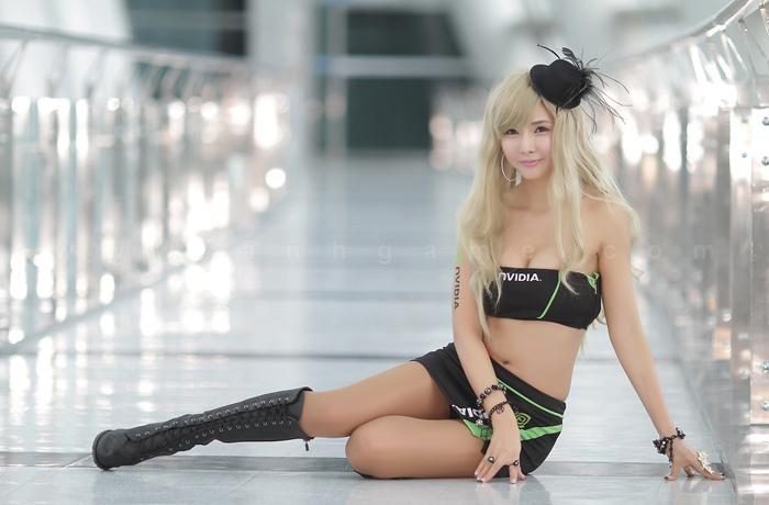 Showgirl G-star 2012: Cha Sun Hwa - Ảnh 27