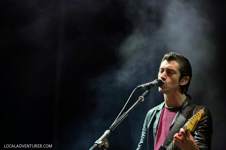 Arctic Monkeys Las Vegas 2014.