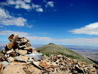 High point of the Henry Mountains