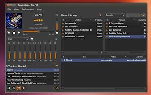 Sayonara Player 0.4.0 su Ubuntu Linux