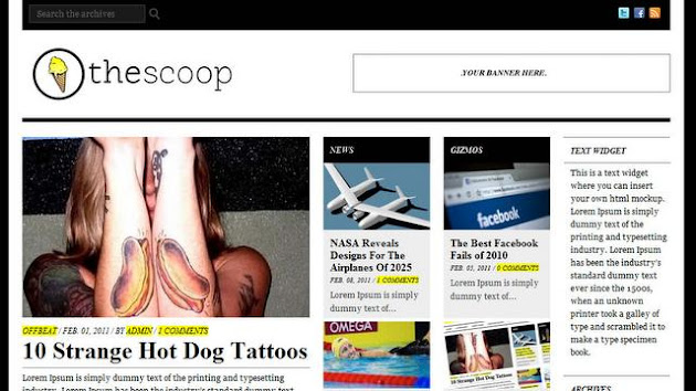 The Scoop WordPress Theme