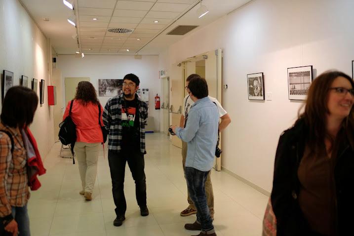 Vista parcial de una de las salas de la exposición