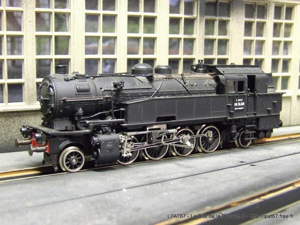 Une nouvelle locomotive à vapeur dans mon parc : la 141 TA de Roco DSCF0073