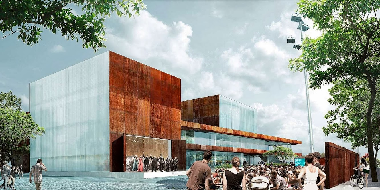 schmidt hammer lassen architects Wins Vendsyssel Theatre Competition
