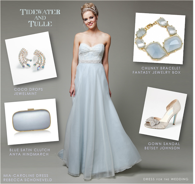 Tidewater and Tulle Blue Bridal