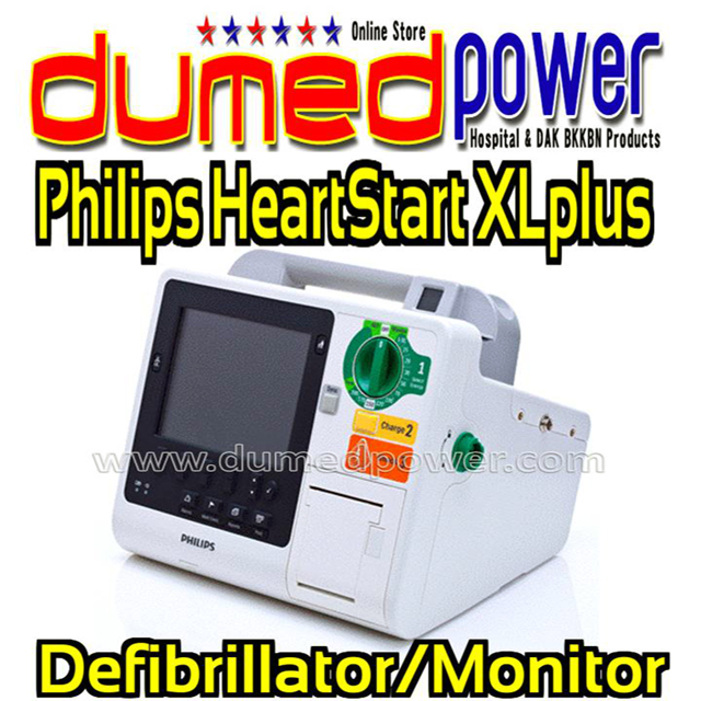 Philips-HeartStart-XL-plus-Defibrillator-Monitor-DS-Shock
