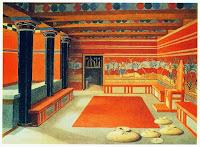 μινωικό παλάτι, Μίνωας στην ελληνική μυθολογία ήταν βασιλιάς της Κρήτης.