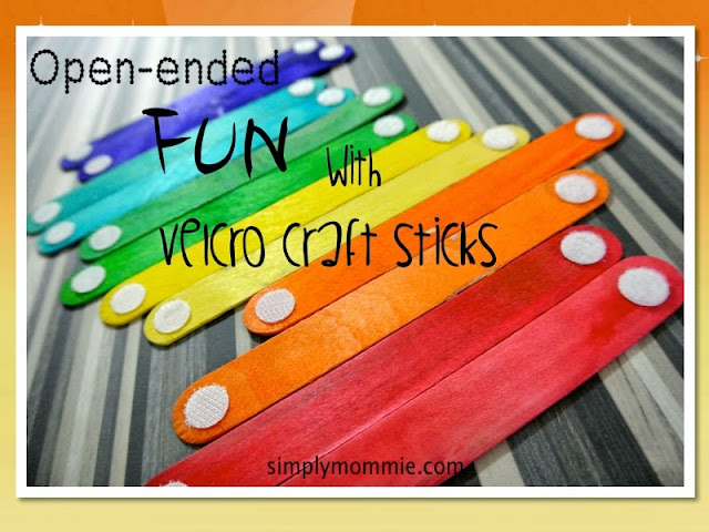 Velcro craft sticks