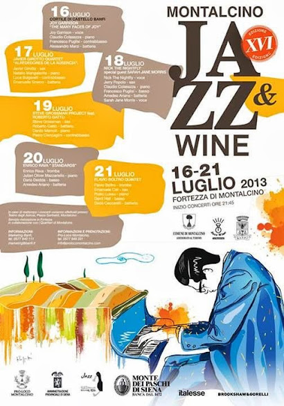 Bill Evans and Cypress trees: the program of Jazz & Wine in Montalcino 2013