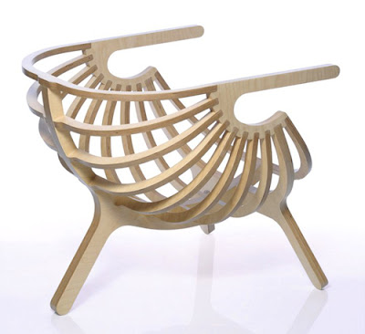 unique plywood chair branca 3 Kursi Unik Dari Kayu Lapis