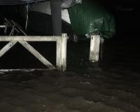 Fredag aften 6/12-13 - plus 194 cm vand
