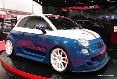 Romeo Ferraris Cinquone Stradale USA Tribute
