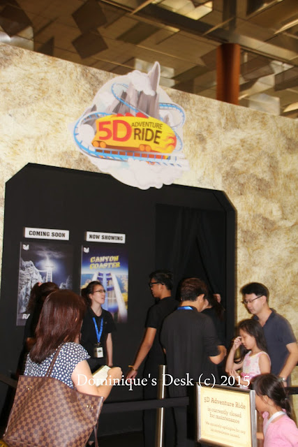 The 5D Simulator Ride