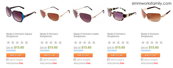 searsStyle Mother's Day Gift Guide sunglasses