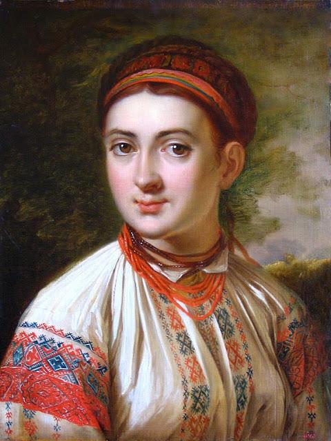 Vasily Tropinin - Girl from Podolye