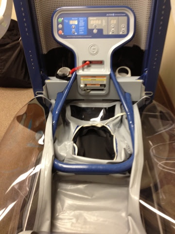 Alter-G anti-gravity treadmill, ready for use