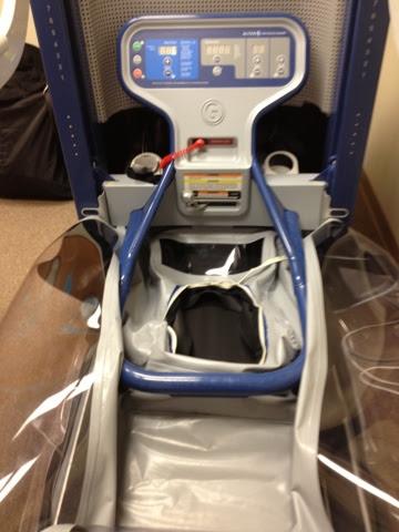 Alter-G anti-gravity treadmill, ready for use