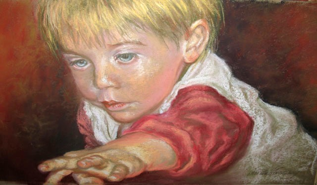 """""""What's That"""" by artist Linda Wilmes."""