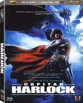 Capitão Harlock: Pirata Do Espaço (2014) BRrip Blu-Ray 1080p Dublado – Torrent Download