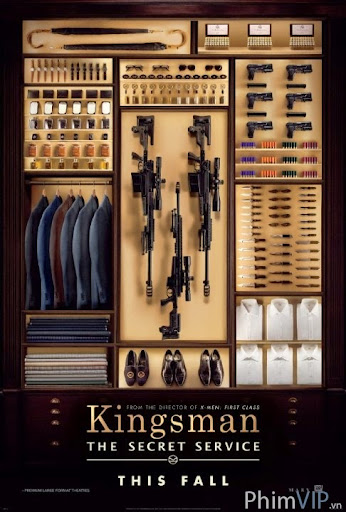 Mật Vụ Kingman - Kingsman: The Secret Service poster