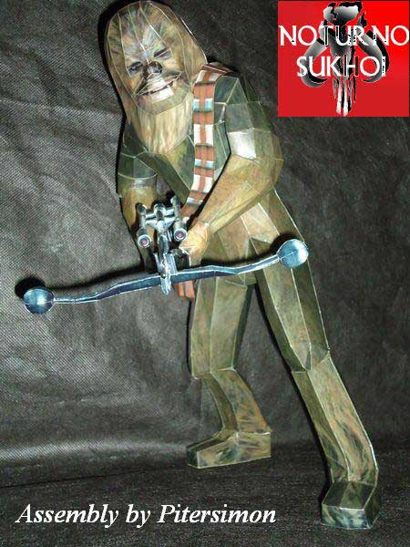 Star Wars - Chewbacca Papercraft