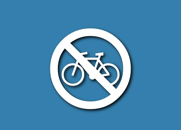 Klavyede Bisikletle Girilmez Uyari Levhasi Isareti Simgesi Sembolu Nasil Yapilir