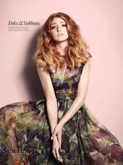 Nicola Roberts - InStyle UK February 2012