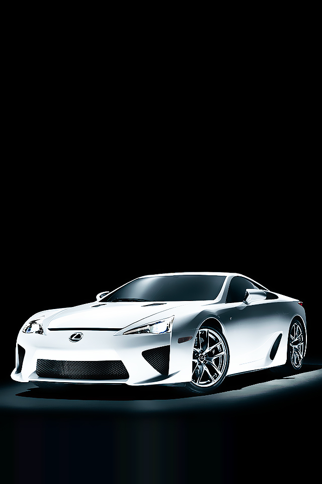 Lexus Car Graphics Wallpaper For iPhone4