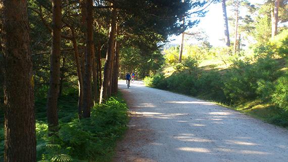 Comienza la señalización de 21 rutas en bici por el Parque Nacional de Guadarrama
