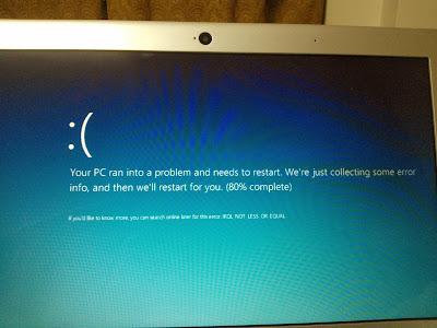 Windows 8 Pro error