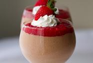 Pudding raspberry