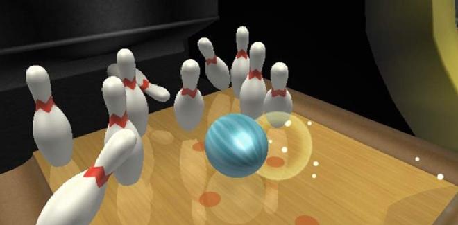 wiii bowling