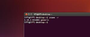 Kernel Linux 3.10.5 in Ubuntu
