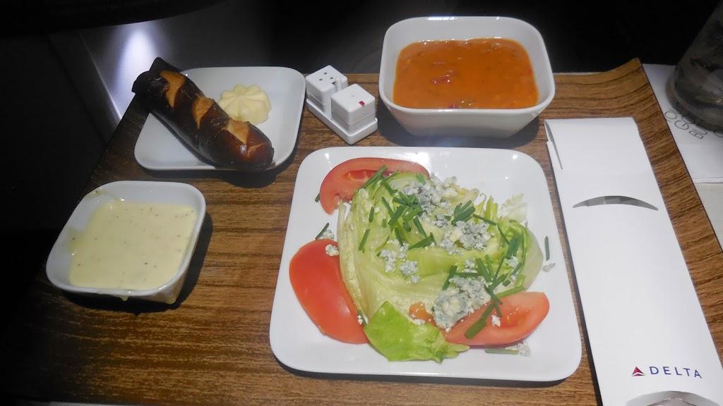Avis du vol delta air lines detroit amsterdam en affaires - Salade a couper qui repousse ...
