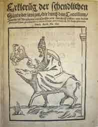 lutero. ilustración