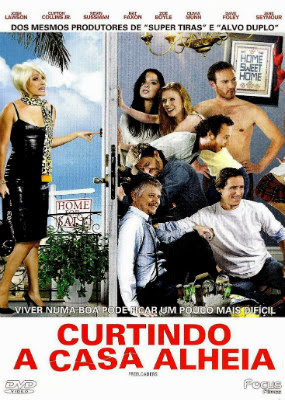 Filme Poster Curtindo a Casa Alheia DVDRip XviD & RMVB Dublado