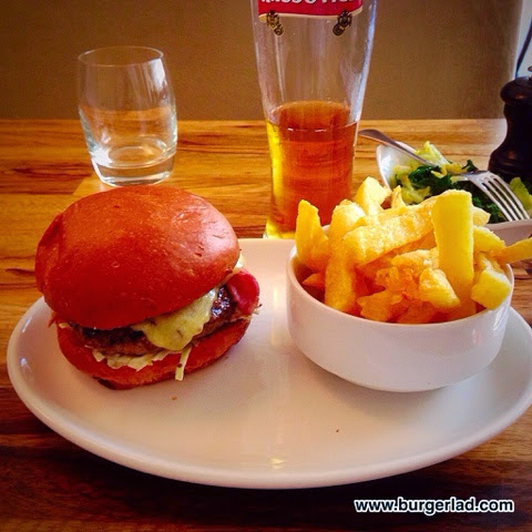 The Admiral Codrington's Burger