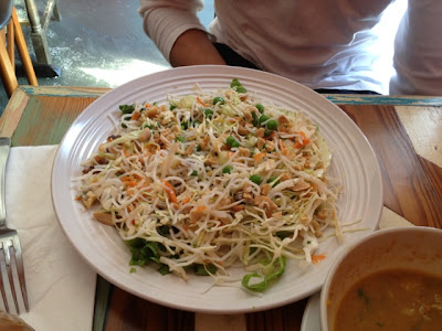 carmo cafe broken noodle salad new orleans