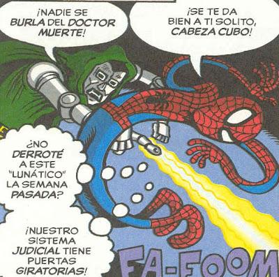 Spiderman y los+fallos+del+sistema+judicial