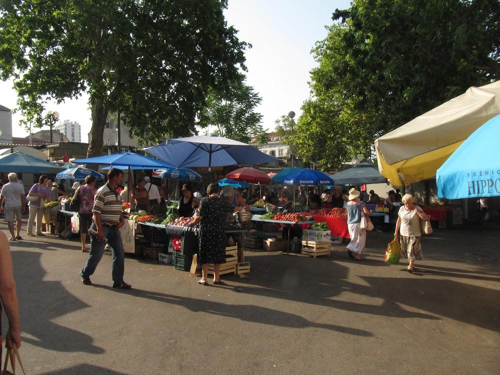Pazar Market in Split