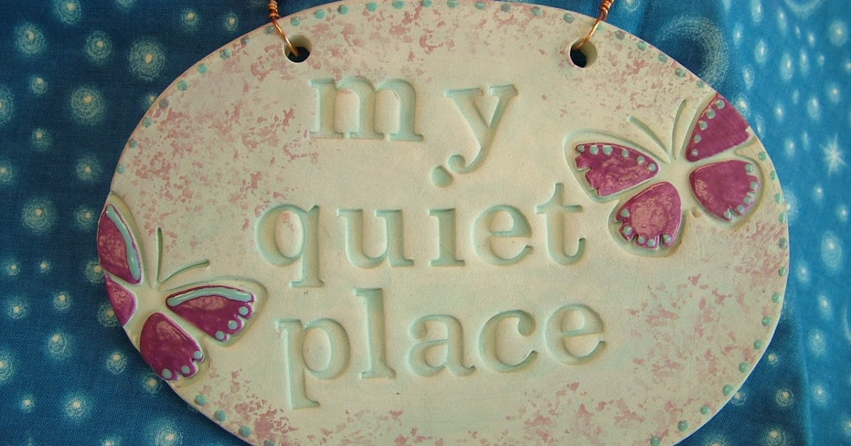 Ophelia S Adornments Blog May 2012: Ophelia's Adornments Blog: Peace & Quiet