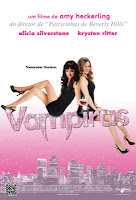 Resenha e cartaz do filme Vampiras (Vamps), de Amy Heckerling