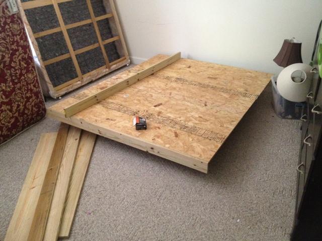 diy floating bed frame - Diy Floating Bed Frame