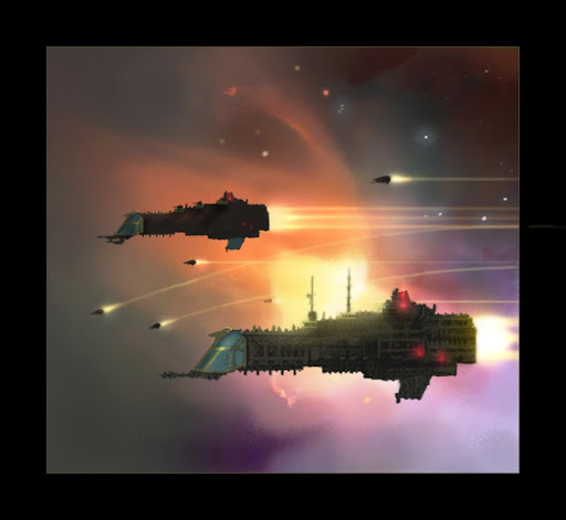 Ultima Segmentum : Campagnes dans l'amas de Thébie - Page 2 Warhammer__Imperial_Cruisers_by_mikkow