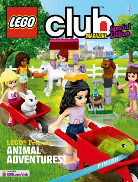 LEGO Friends Magazine Issue 1 2013