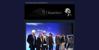Weekly Newsletter Sign Up: New York Fashion Week [men's fashion]