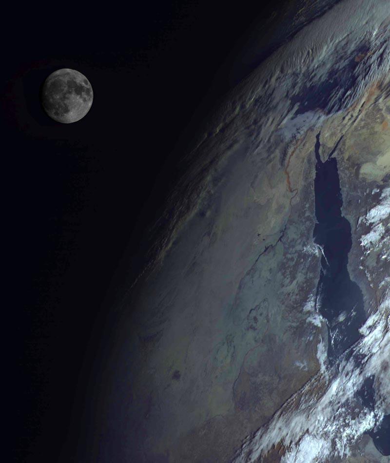 El sistema TierraLuna desde el espacio  Astronutica  Eureka