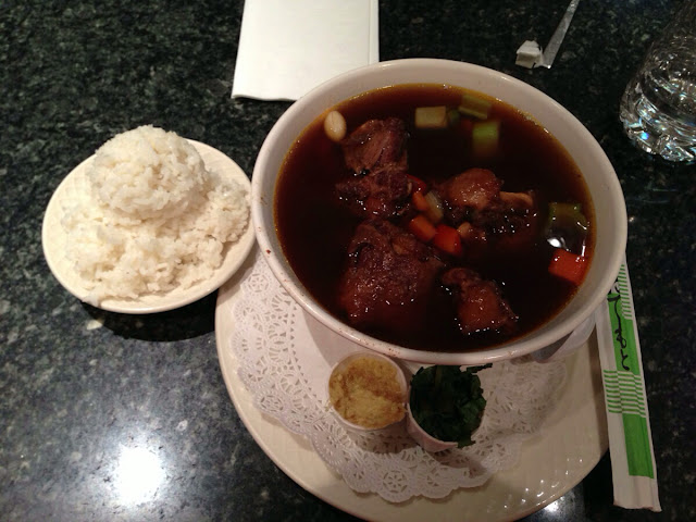 Oxtail Soup at the California Hotel and Casino