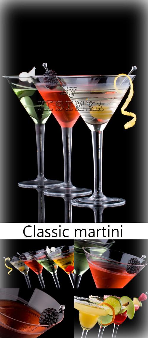 Stock Photo: Classic martini